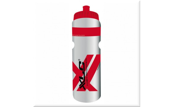 Фляга XLC Water bottle 750ml, transparent red WB-K03