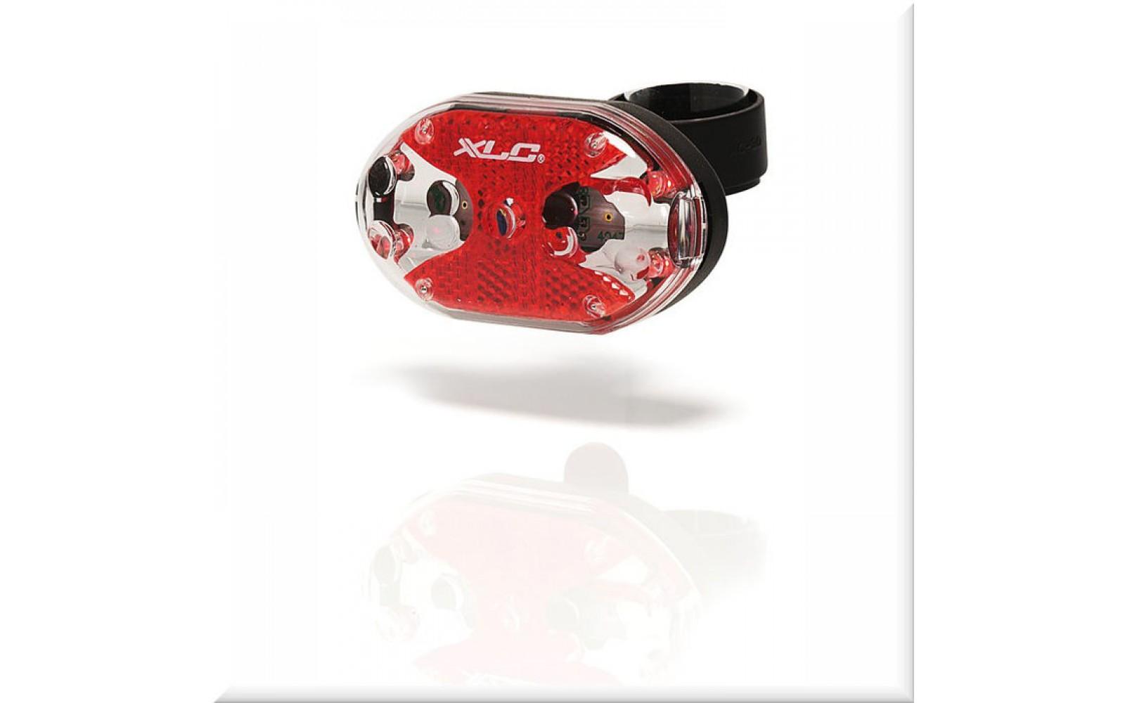 Фонарь XLC Задний Thebe CL-R02 5 ламп