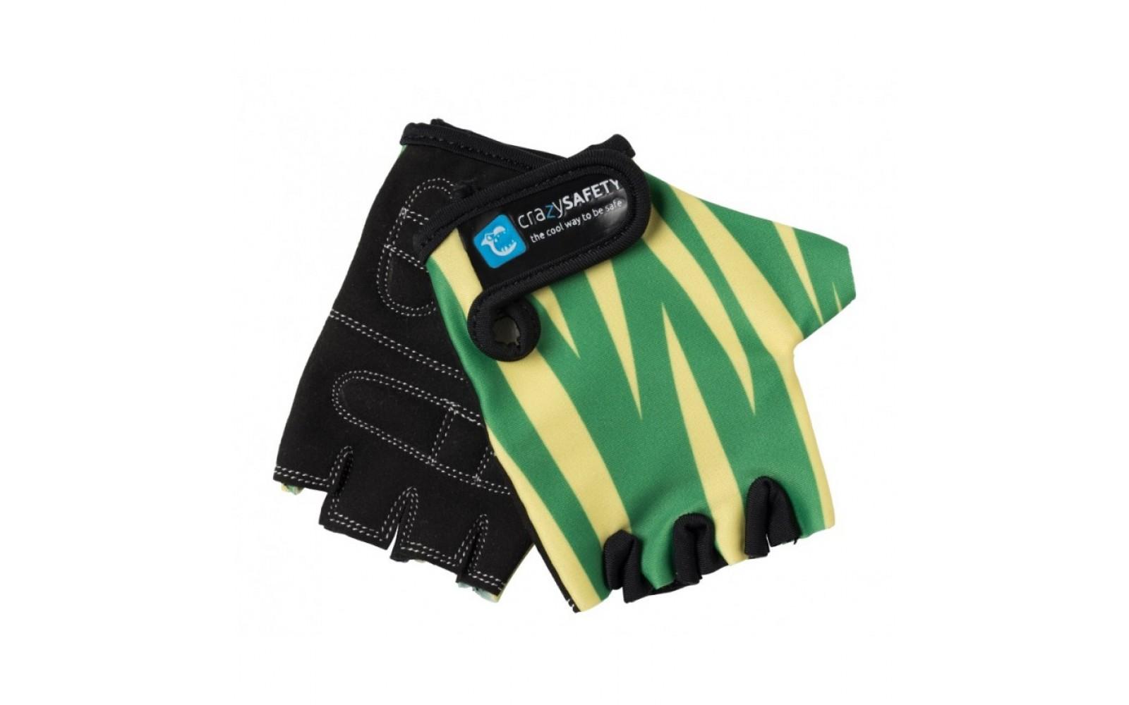 Перчатки Green Tiger (зелёный тигр) Crazy Safety