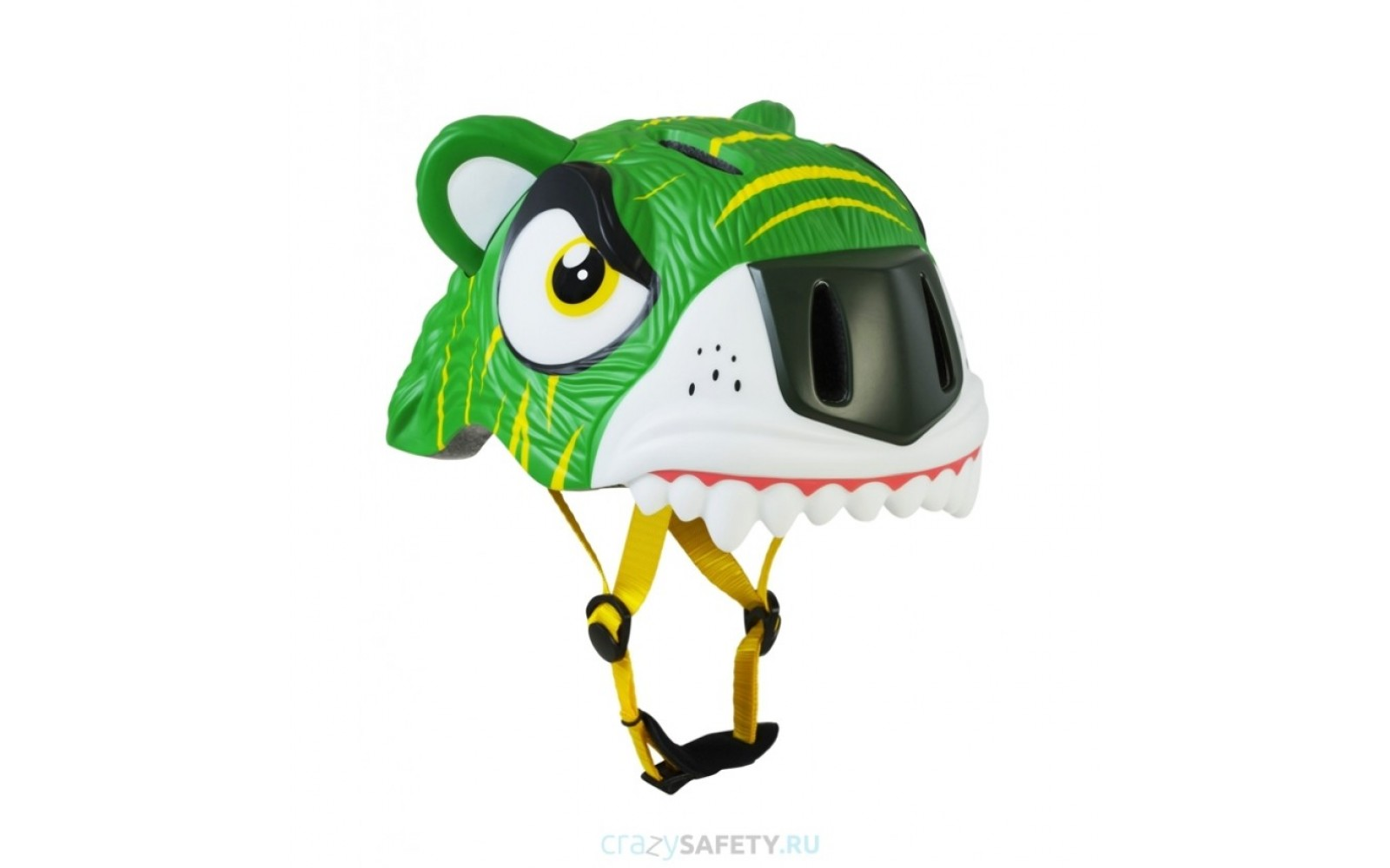 Шлем Green Tiger 2017 New (зелёный тигр) Crazy Safety