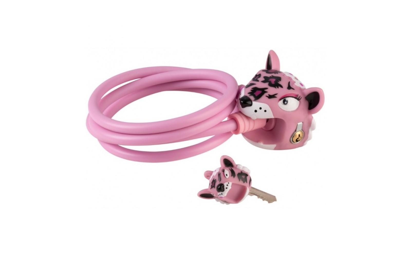 Замок Pink Leopard (розовый леопард кошка)