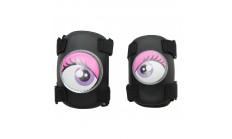Защита локтей и колен Crazy Safety pink (розовая)