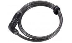 Замок велосипедный BBB CodeSafe 6mm x 1500mm coil cable combination lock
