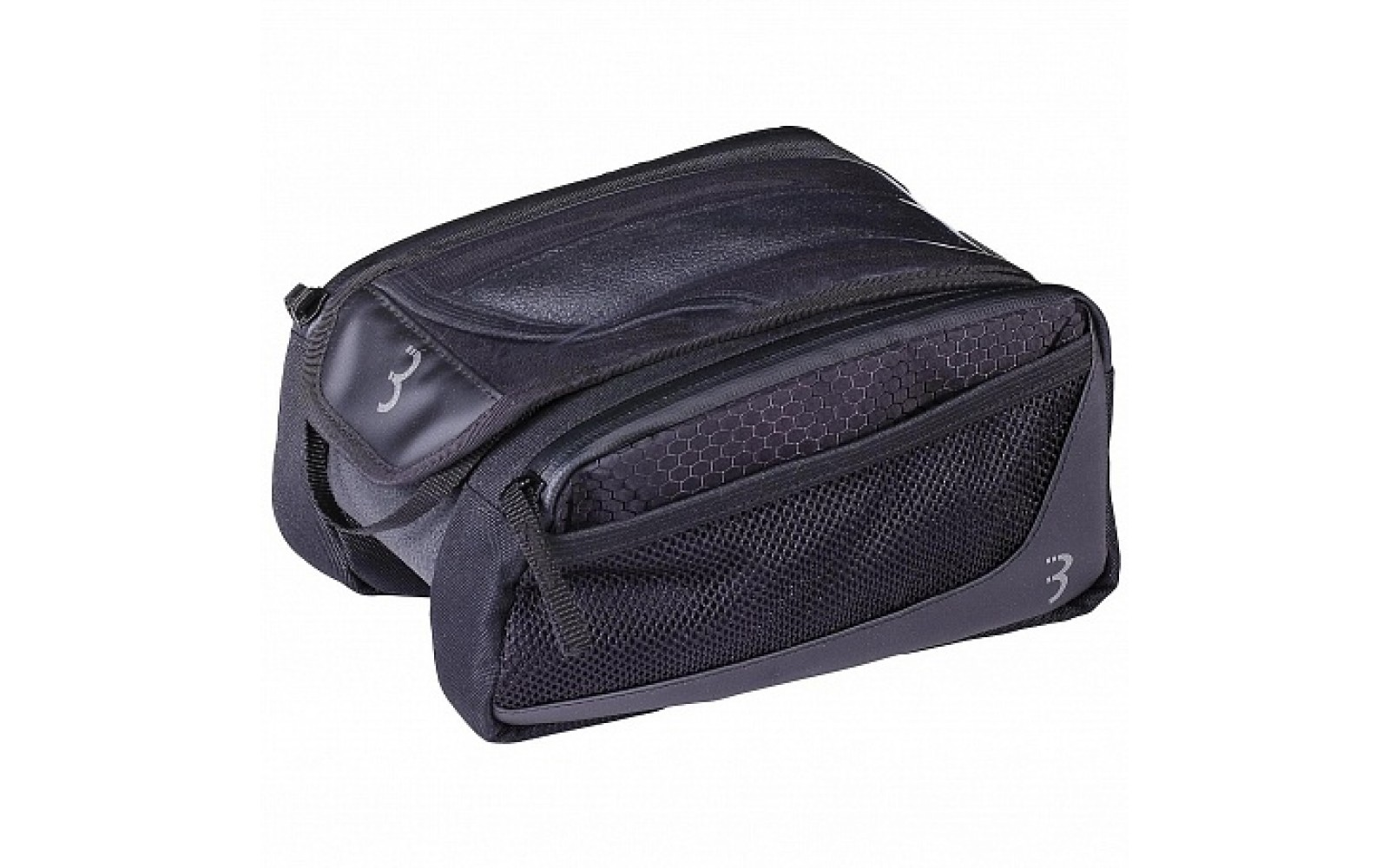 "Велосумка BBB 2019 tubebag TopTank X toptube bag with phone pouch and side pouches 20 x 16 x 11cm - 1.5L black <i class=""icon product-card_star-mask""></i>"