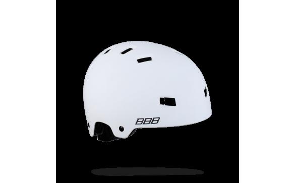 Велошлем BBB 2018 Billy белый матовый