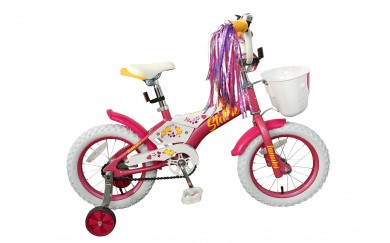 Детский велосипед Stark Tanuki 14 Girl (2019)