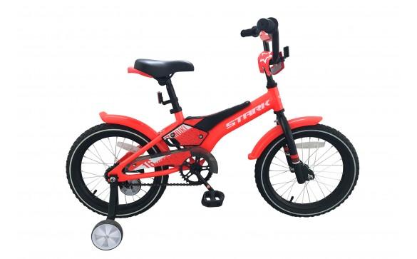 Детский велосипед Stark Tanuki 16 Boy (2019)