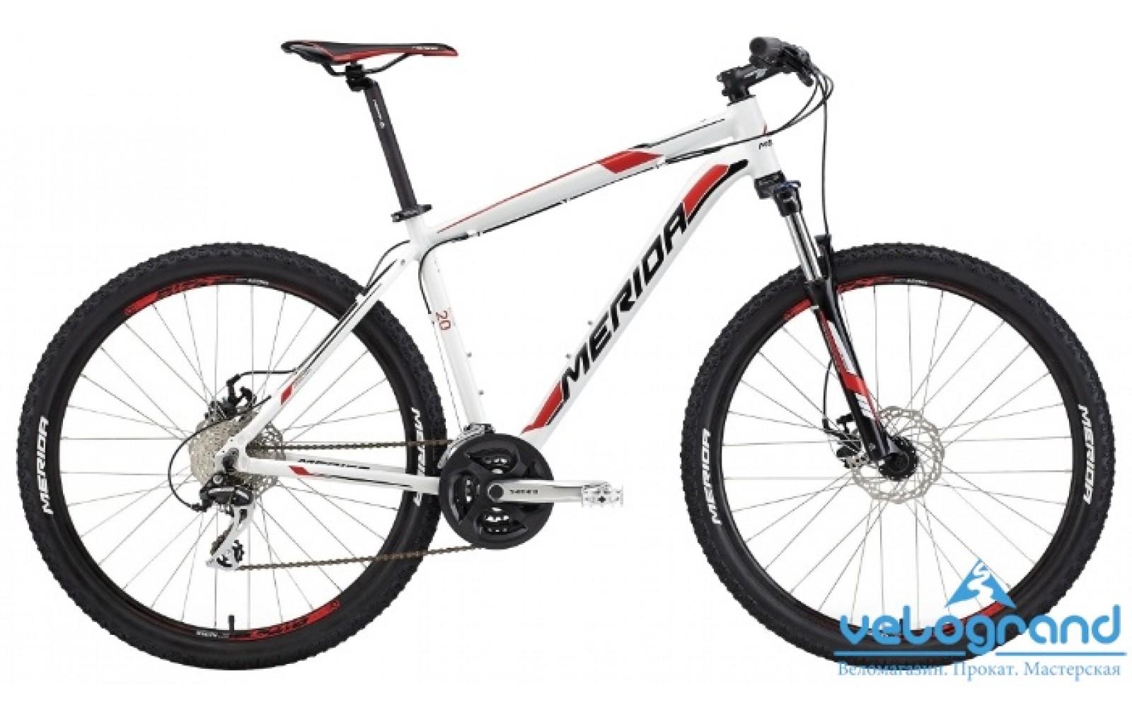 Горный велосипед Merida BIG.SEVEN 20-MD (2015)