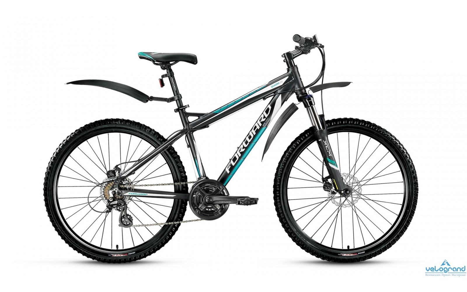 Горный велосипед Forward Quadro 2.0 disc (2016)