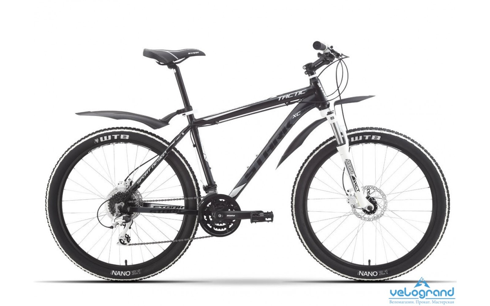 Горный велосипед Stark Tactic HD (2016)