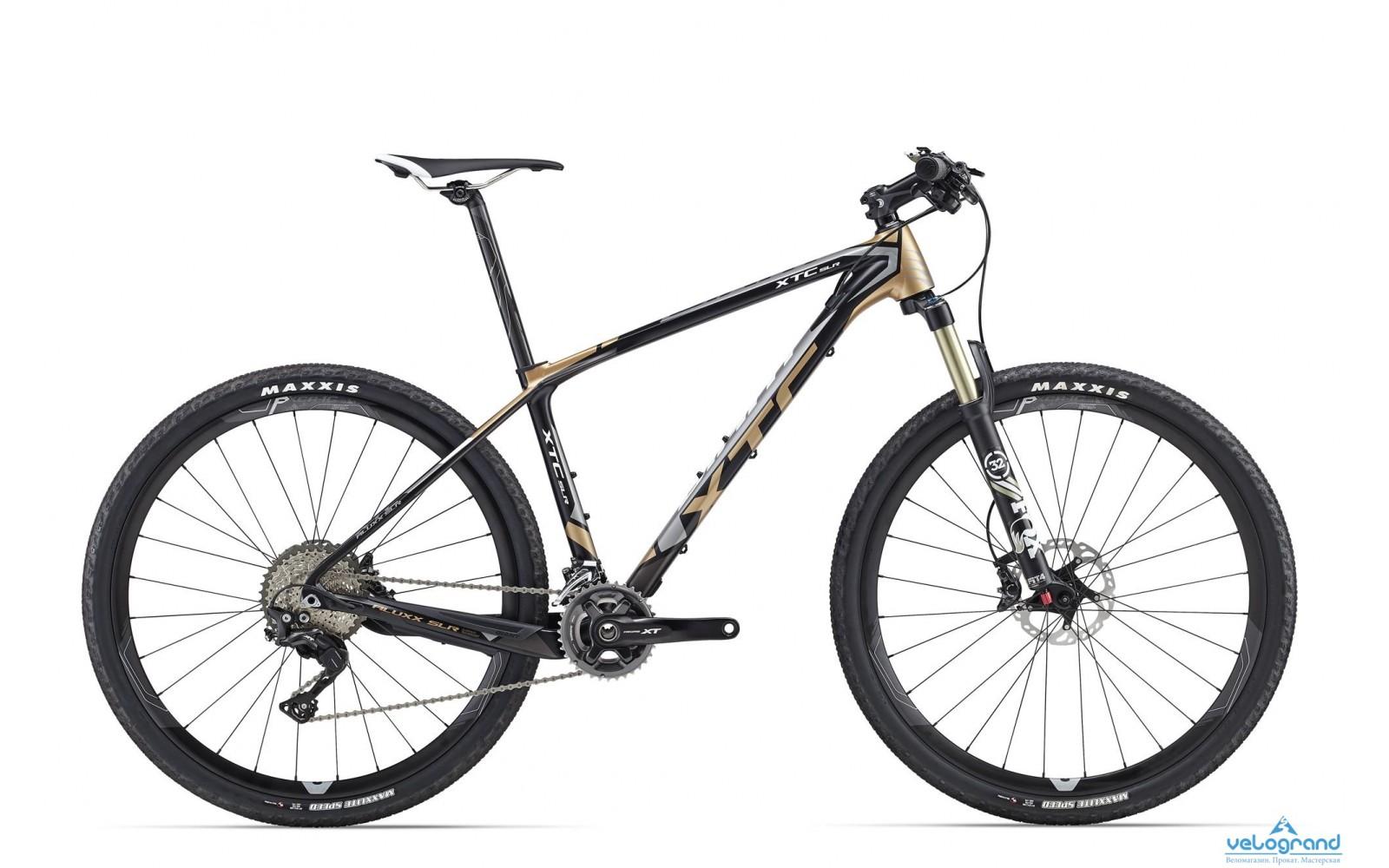 Горный велосипед Giant XtC SLR 27.5 1 Plus (2016)