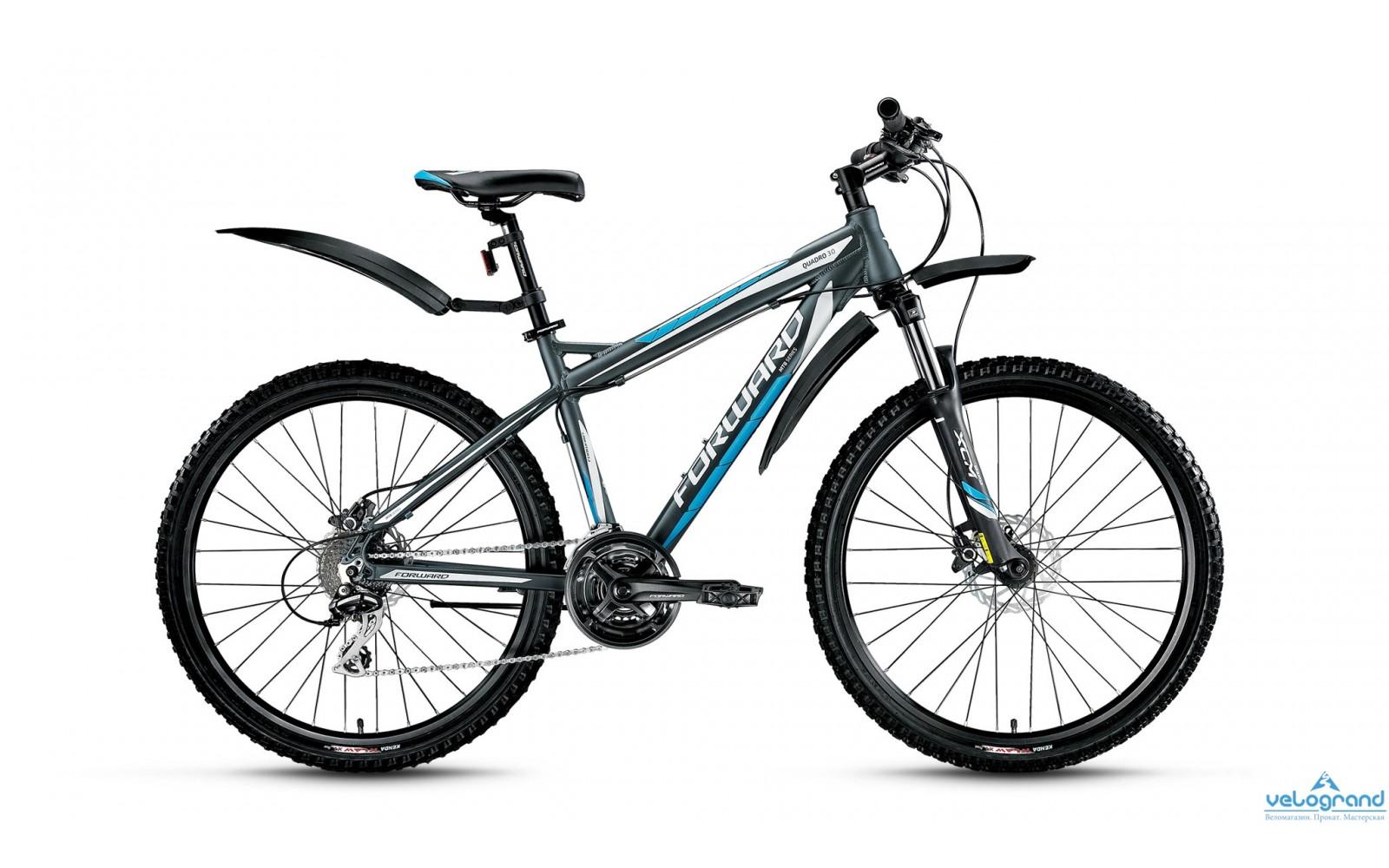 Горный велосипед Forward Quadro 3.0 disc (2016)
