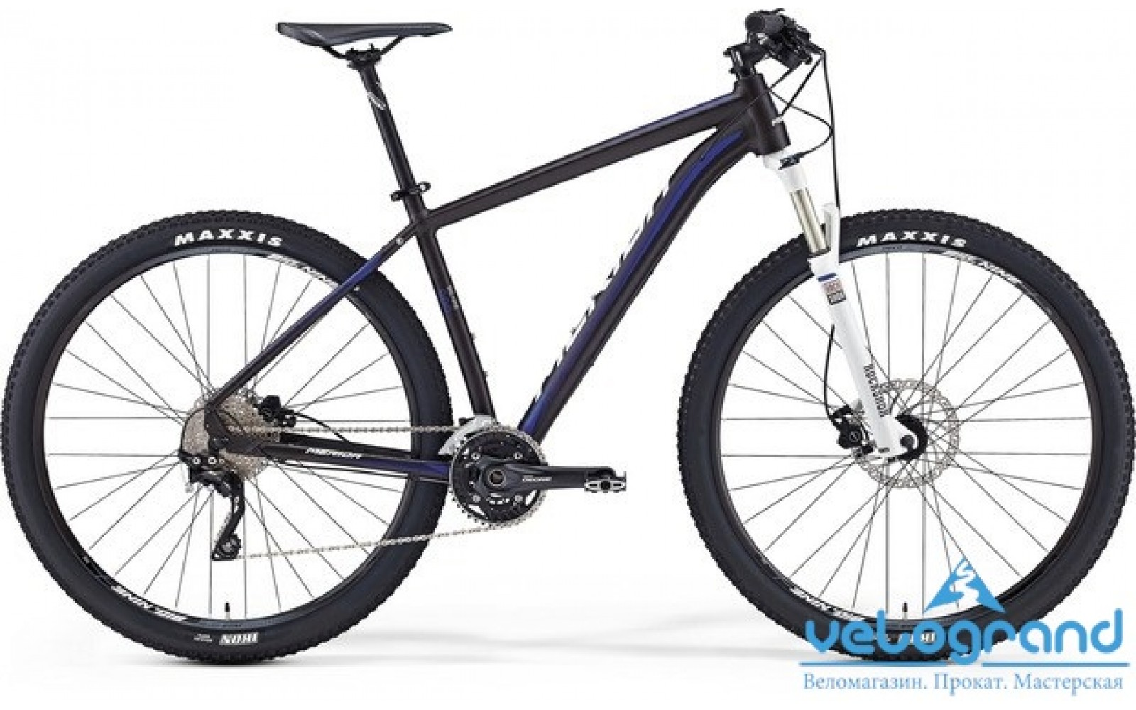 Горный велосипед Merida BIG.NINE 600 (2016)