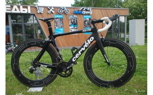 Шоссейный велосипед Cervelo S5 DA