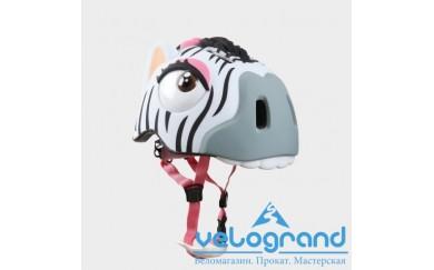 Защитный шлем зебра