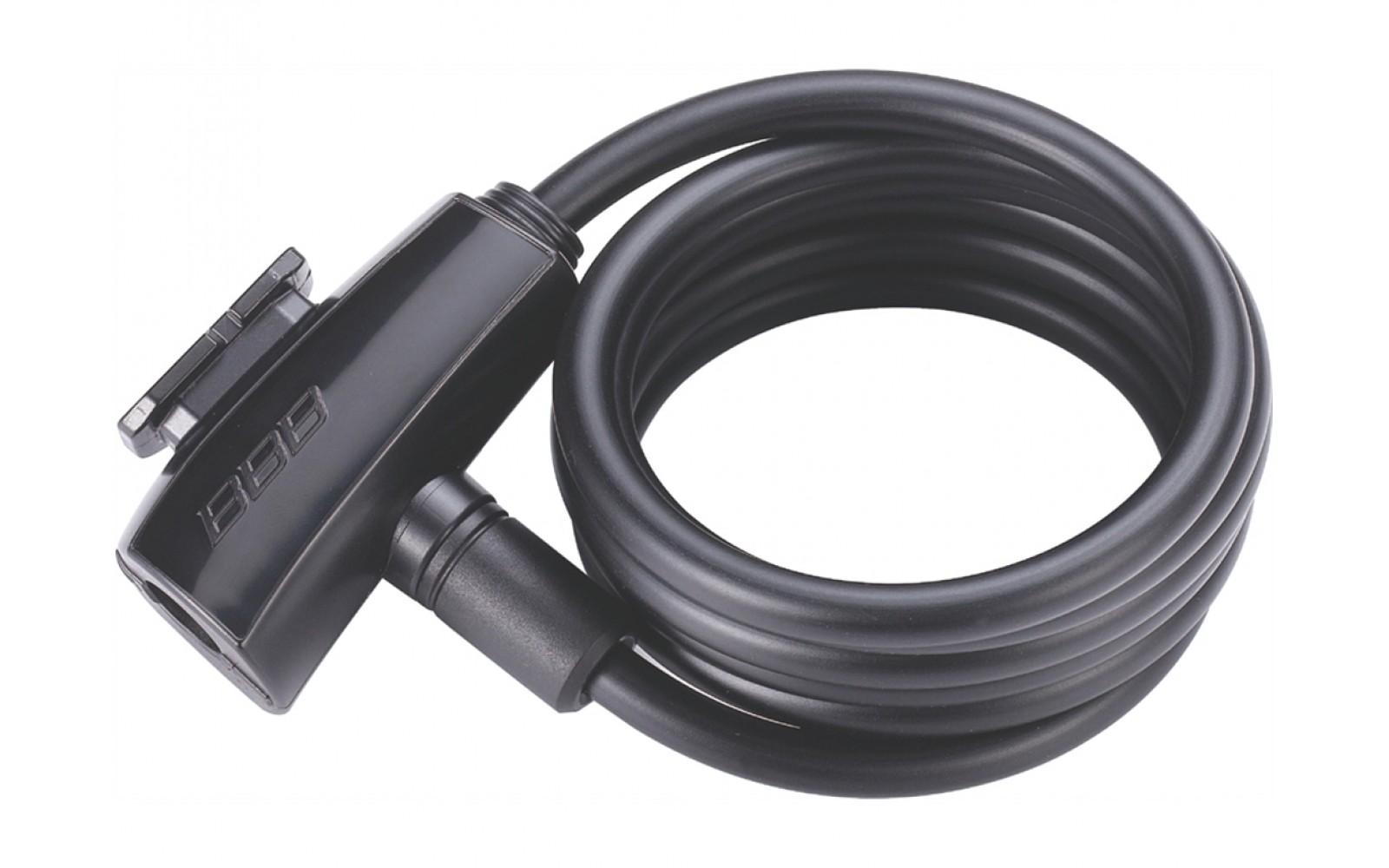 Замок на ключе для велосипеда BBB BBL-61 QuickSafe 8 мм x 1500 мм (2017)